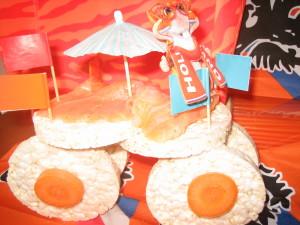 Oranje WK bus